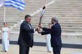 Η Ολυμπιακή Φλόγα ταξιδεύει για το Πεκίνο