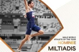 Ο Μίλτος Τεντόγλου υποψήφιος για τον τίτλο του κορυφαίου αθλητή στον κόσμο